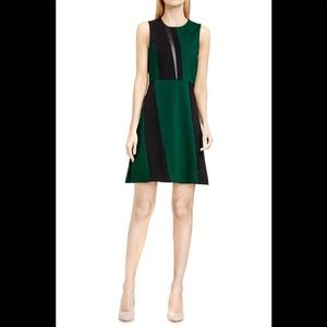 Vince camuto color block dress